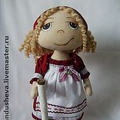 """Куклы и игрушки ручной работы. Ярмарка Мастеров - ручная работа Текстильная кукла """"Мамина помощница"""". Handmade."""