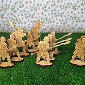 Материалы для творчества handmade. Livemaster - original item Figurines for painting: Orcs of Mordor. Handmade.