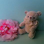 Куклы и игрушки ручной работы. Ярмарка Мастеров - ручная работа Миниатюрный мишка ЭЛИОТ. 6,5 см. Handmade.