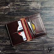 Канцелярские товары handmade. Livemaster - original item Passport cover, dickholder Hackney. Handmade.