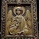 Иконы ручной работы. Ярмарка Мастеров - ручная работа. Купить Резная Икона из дерева -  Ангел Хранитель. Handmade. Пасха