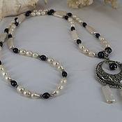 Украшения handmade. Livemaster - original item Long necklace with pendant
