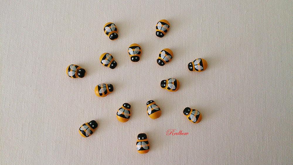 Пчелки на липучке ДП11, Другие виды рукоделия, Москва, Фото №1