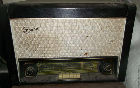 Электроника. Ярмарка Мастеров - ручная работа. Купить Радиоприёмник Стрела. Handmade. Черный, подарок на любой случай, дерево