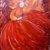 """Картины и панно ручной работы. Ярмарка Мастеров - ручная работа Картина """"Танец огненной царицы"""". Handmade."""