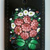 Русский стиль handmade. Livemaster - original item Painting Zhostovo. Handmade.