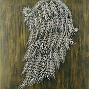 Картины ручной работы. Ярмарка Мастеров - ручная работа Крыло ангела. Handmade.