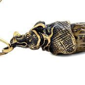 Украшения ручной работы. Ярмарка Мастеров - ручная работа Рог носорога. Handmade.