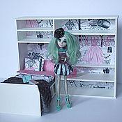 """Куклы и игрушки ручной работы. Ярмарка Мастеров - ручная работа Румбокс """"Мода 2"""" для куколок Monster High, Ever After High, Barbie... Handmade."""