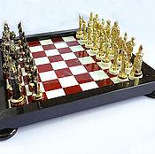 Шахматы ручной работы. Ярмарка Мастеров - ручная работа Эксклюзивные шахматы ручной работы z218. Handmade.