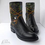 Обувь ручной работы handmade. Livemaster - original item Painting on shoes. Boots