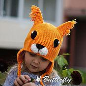 Работы для детей, ручной работы. Ярмарка Мастеров - ручная работа Шапка Белочка, шапка Белка. Handmade.