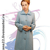 "Одежда handmade. Livemaster - original item Knitted coat ""Princess"". Handmade."
