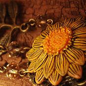 Украшения handmade. Livemaster - original item Brooches-flowers from the Enchanted Forest. Handmade.