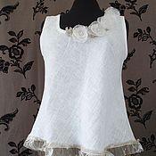 Одежда handmade. Livemaster - original item Tunic style boho.Shirt t shirt summer.. Handmade.