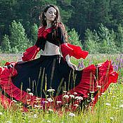 Костюмы ручной работы. Ярмарка Мастеров - ручная работа Цыганский костюм. Handmade.