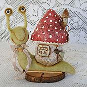 Куклы и игрушки ручной работы. Ярмарка Мастеров - ручная работа Насекомыши Тедди (друг Тедди, улитка, гусеница). Handmade.