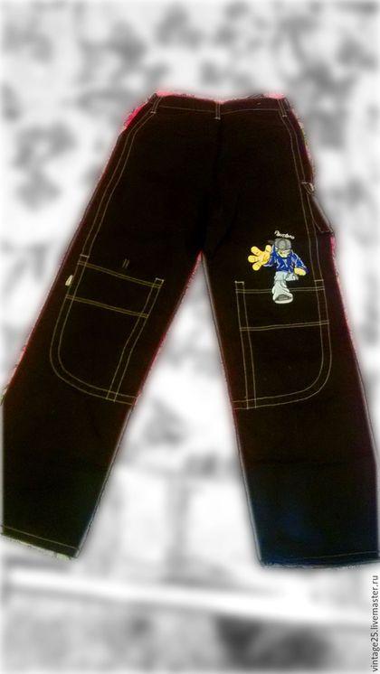 """Одежда. Винтажные американские джинсы новые100 % COTTON. Винтажный салон """"Консуэлло"""". Интернет-магазин Ярмарка Мастеров. Джинсы, хлопок"""