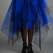 """Одежда ручной работы. Ярмарка Мастеров - ручная работа Юбка- пачка """"Синяя королева"""". Handmade."""