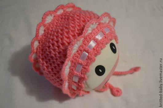 Для новорожденных, ручной работы. Ярмарка Мастеров - ручная работа. Купить Шапочка для малышки. Handmade. Вязание для новорожденных, шапочка детская