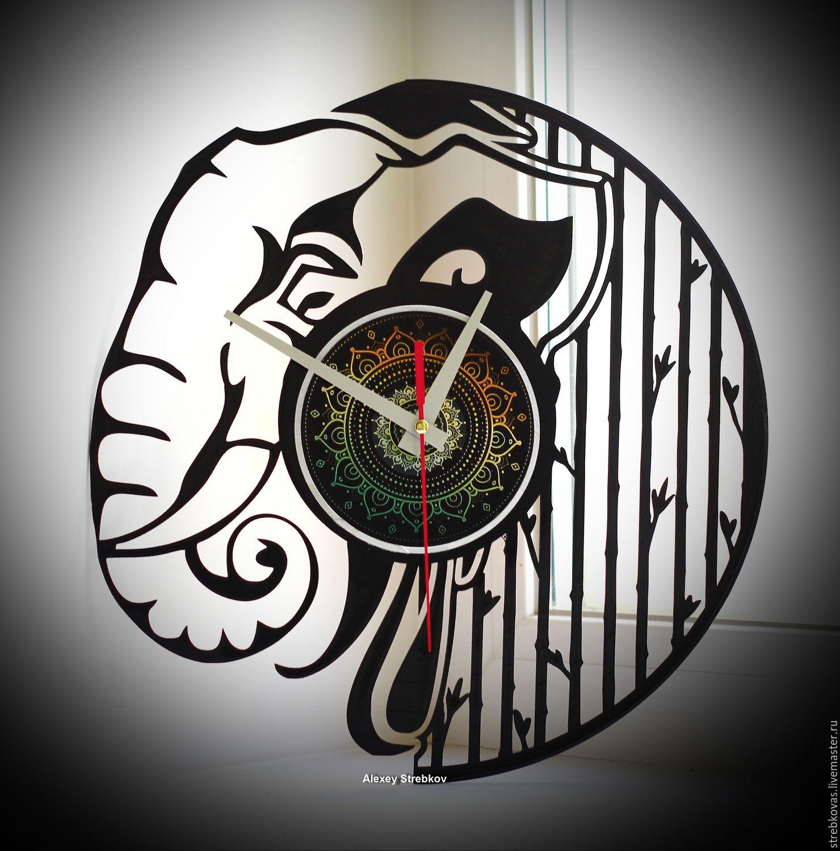 """Оригинальный подарок. Часы """"Слон"""", Watch, Krasnoyarsk,  Фото №1"""