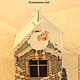 """Новый год 2017 ручной работы. Чайный домик """"Праздник к нам приходит""""/продан/. Анастасия Ермолаева (anastasia-lab). Ярмарка Мастеров."""