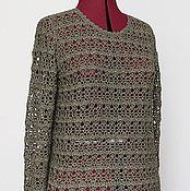 Одежда handmade. Livemaster - original item Cashmere silk cardigan women`s . Delicate tenderness. Handmade.