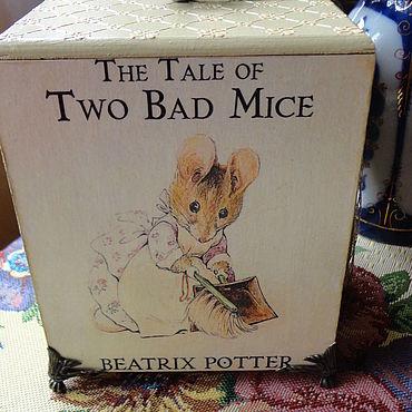 """Для дома и интерьера ручной работы. Ярмарка Мастеров - ручная работа Beatrix Potter """"Мышка хозяюшка"""".. Handmade."""
