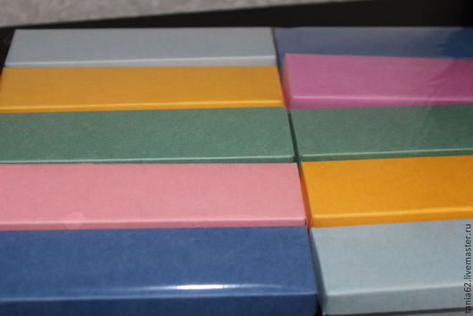 Упаковка ручной работы. Ярмарка Мастеров - ручная работа. Купить Коробочки для закладок. Handmade. Разноцветный, упаковка для подарка, упаковка для бижутерии