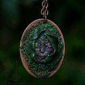 """Украшения ручной работы. Ярмарка Мастеров - ручная работа Кулон """"Хранитель лесных троп"""". Handmade."""