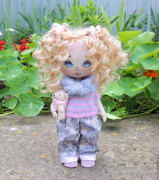 Коллекционные куклы ручной работы. Ярмарка Мастеров - ручная работа. Купить Малышка. Handmade. Комбинированный, подарок девушке, мохер