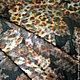 Ткань Жаккард. Сочетание леопардового рисунка и цветочной фактуры, делает ткань необычной и интересной. Производство Италия,  ширина 140. Цена 2618.