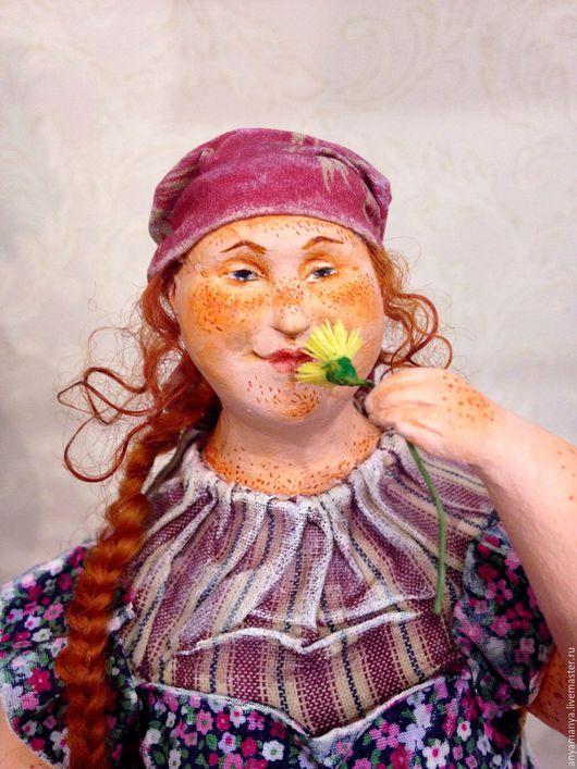 Коллекционные куклы ручной работы. Ярмарка Мастеров - ручная работа. Купить Постирушки. Handmade. Комбинированный, Паперклей, Японский хлопок