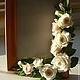 Интерьерные композиции ручной работы. Ярмарка Мастеров - ручная работа. Купить Фоторамки с розами. Handmade. Фоторамка, розовый
