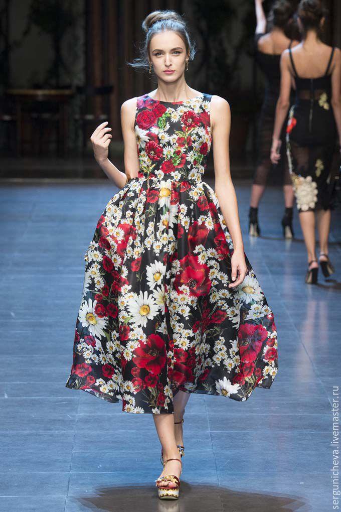 как переделать просто платье