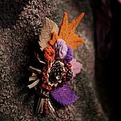 Украшения ручной работы. Ярмарка Мастеров - ручная работа Брошь букет. Осенняя рапсодия. Handmade.