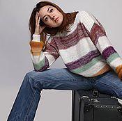 """Одежда ручной работы. Ярмарка Мастеров - ручная работа Пуловер """"Winter travelling"""". Handmade."""