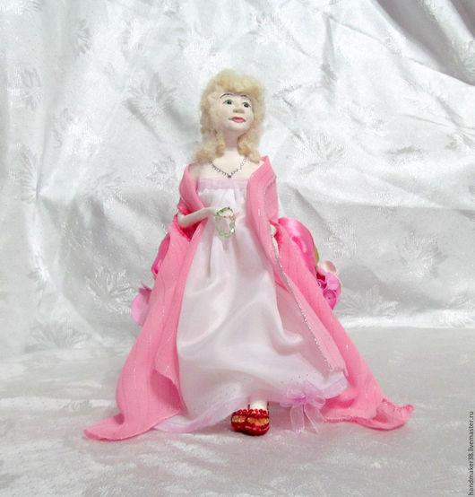 Коллекционные куклы ручной работы. Ярмарка Мастеров - ручная работа. Купить прелестница. Handmade. Кукла интерьерная, паперклей, папье-маше