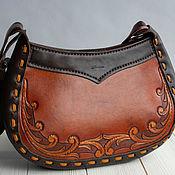 Сумки и аксессуары handmade. Livemaster - original item Embossed women`s handbag.. Handmade.