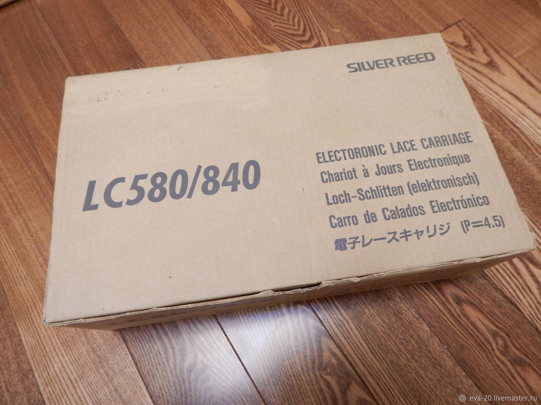 Silver Reed LC 580/840 электронная ажурная каретка – купить на Ярмарке Мастеров – LQ7AMRU | Инструменты для вязания, Москва