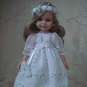 Куклы и игрушки ручной работы. Ярмарка Мастеров - ручная работа Платье + обувь на куклу 32см. Paola Reina. Handmade.