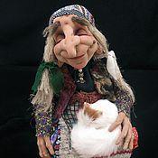 Куклы и игрушки ручной работы. Ярмарка Мастеров - ручная работа Спящая Баба-Яга. Handmade.