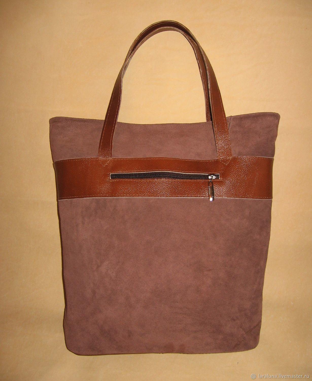 f8732caf757d Женские сумки ручной работы. Ярмарка Мастеров - ручная работа. Купить  Кожаная сумка-шоппер ...