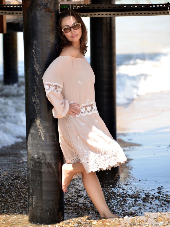 8e4f2cc9c235671 Пляжные платья ручной работы. Ярмарка Мастеров - ручная работа. Купить  ПЛАТЬЕ туника отдых море ...