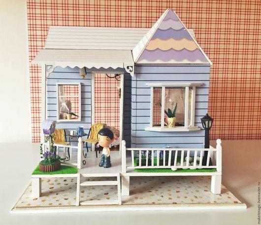 Кукольный дом ручной работы. Ярмарка Мастеров - ручная работа. Купить Кукольный домик Villa. Handmade. Кукольный дом, подарок