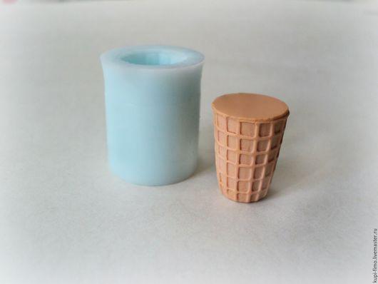 Для украшений ручной работы. Ярмарка Мастеров - ручная работа. Купить Молды мороженое (стаканчик, рожок). Handmade. Комбинированный