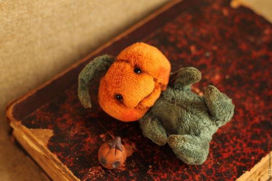 Мишки Тедди ручной работы. Ярмарка Мастеров - ручная работа. Купить Маленькая тыква!. Handmade. Мишки тедди, миник, хелоуин