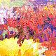 """Пейзаж ручной работы. Картина """"Осенний Этюд"""" картина осень маслом. ЯРКИЕ КАРТИНЫ Наталии Ширяевой. Ярмарка Мастеров. Коалловый"""