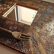 Для дома и интерьера ручной работы. Ярмарка Мастеров - ручная работа Зеркальце Загадочное. Handmade.