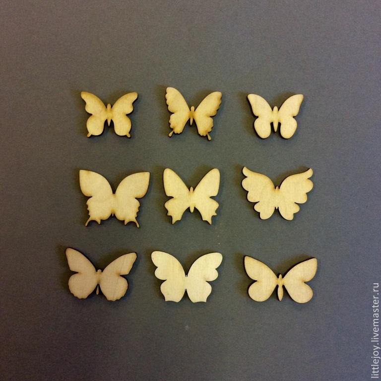 Бабочка размер 4,5 х 4 см цена 20 руб
